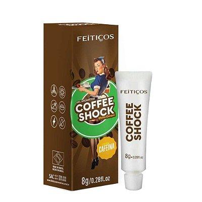 Coffee Shock Gel Eletrizante Aromático 8G FEITIÇOS