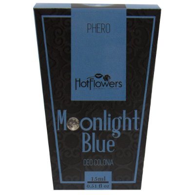 MOONLIGHT BLUE PHERO PERFUME DEO COLONIA 15ML HOT FLOWERS