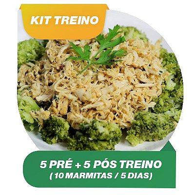 KIT TREINO 5 DIAS - 10 Marmitas