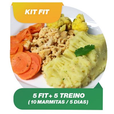 Kit Fit 5 dias - 10 Marmitas