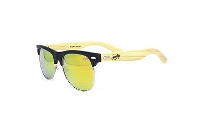 Óculos de Sol SunHot BM.004 Bamboo Orange