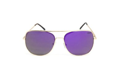 Óculos de Sol SunHot MT.003 Gold Purple