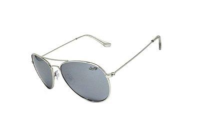 Óculos de Sol SunHot MT.010 Silver Grey