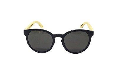 Óculos de Sol SunHot BM.005 Bamboo Black