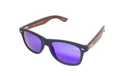Óculos de Sol SunHot BM.006 Bamboo Green/Blue