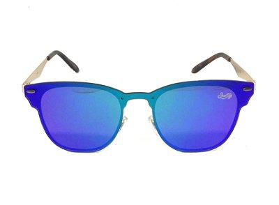 Óculos de Sol SunHot MT.019 Gold Green