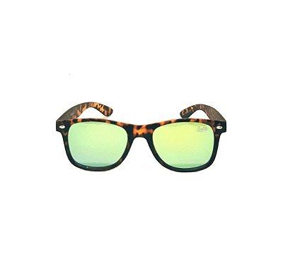 Óculos de Sol SunHot AC.044 Leopard Yellow