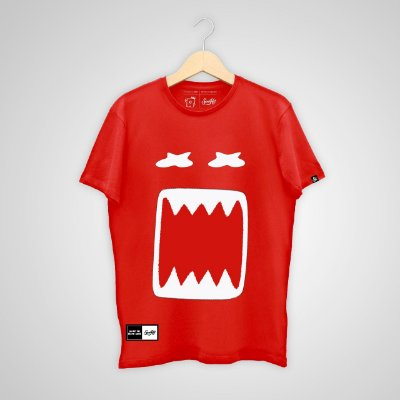 Camiseta SunHot ''Giant Big Mouth'' Vermelha