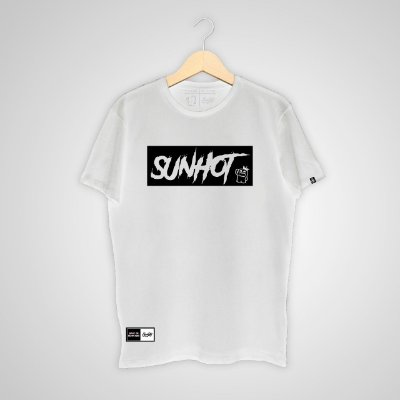 Camiseta SunHot ''Big Box'' Branca