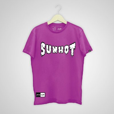Camiseta SunHot ''To Melt'' Roxa
