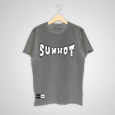 Camiseta SunHot ''To Melt'' Cinza Chumbo