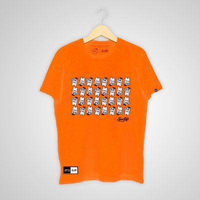 Camiseta SunHot ''Small Big Mouth'' Laranja