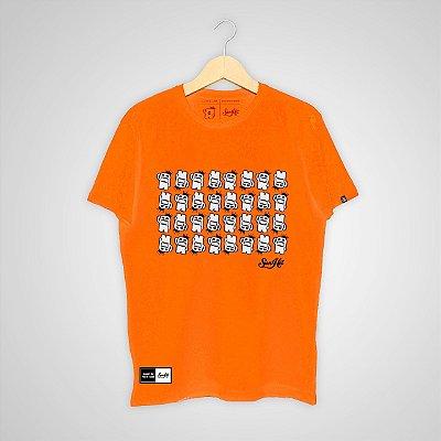 Camiseta SunHot ''Small Big Mouth'' Laranja