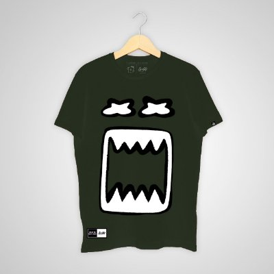 Camiseta SunHot ''Big Mouth 2.0'' Verde Militar