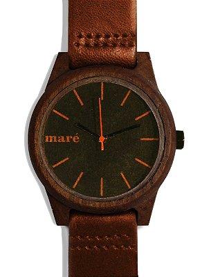 Relógio de Madeira - Maré Básico 009 42mm
