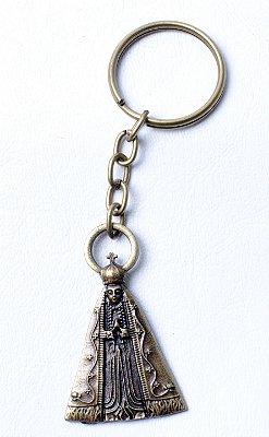 Chaveiro de Nossa Senhora Aparecida + Medalha