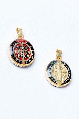 Medalha de São Bento - Resina + Chaveiro