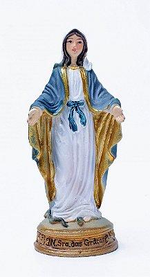 Imagem de Nossa Senhora das Graças - 9cm - Resina