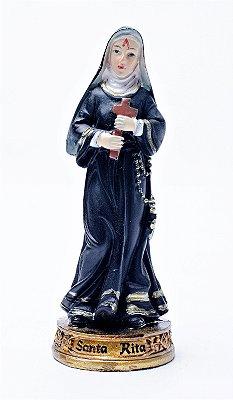 Imagem de Santa Rita de Cássia - 9cm - Resina