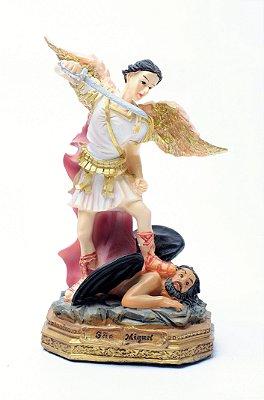 Imagem de São Miguel Arcanjo - 17cm - Resina