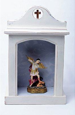 Oratório Rústico em Madeira