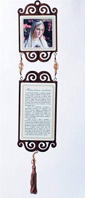 Adorno de Porta - Oração Maria Passa na Frente