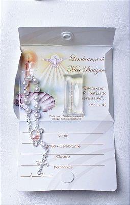 Cartão Batismo - Lembrança Batizado