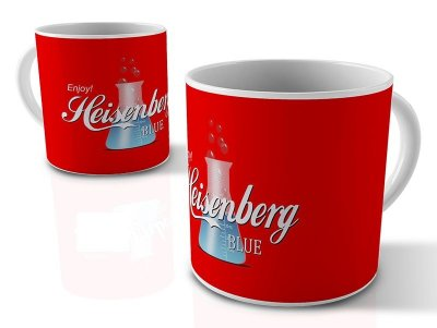 CANECA ENJOY HEISENBERG BLUE