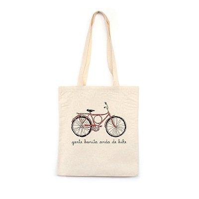 Gente Bonita Anda de Bike - Bolsa de Lona
