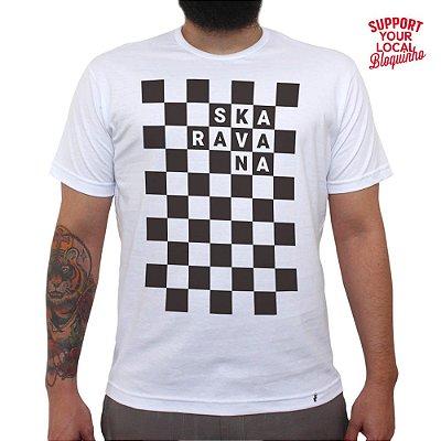 Bloco Skaravana - 2019 - Camiseta Basicona Unissex