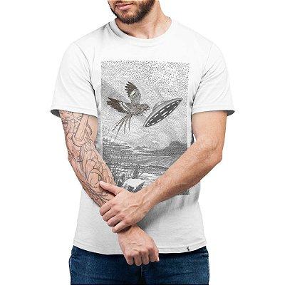 Bacurau Vertical #bacurau - Camiseta Basicona Unissex