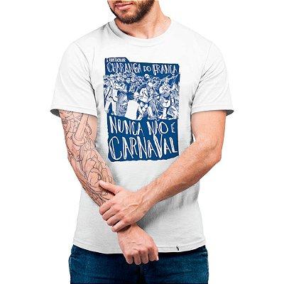 Bloco Charanga do França - 2020 - Camiseta Basicona Unissex