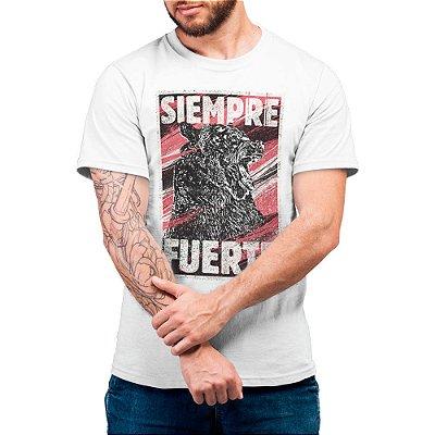 Siempre Fuerte #cestabasica - Camiseta Basicona Unissex