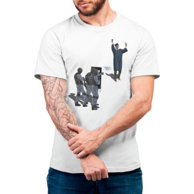 Largue a Arma - Camiseta Basicona Unissex