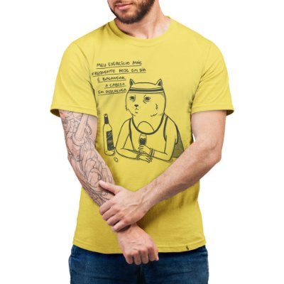 Descrença #cestabasica - Camiseta Basicona Unissex