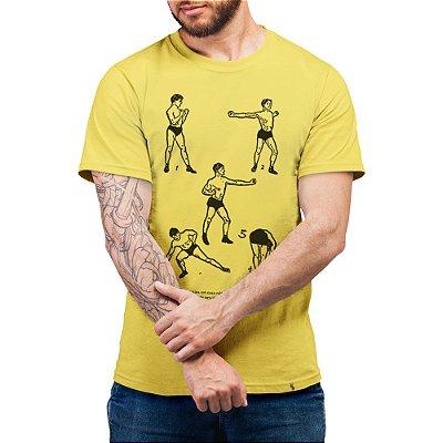 Fazer Exercícios em Casa - Camiseta Basicona Unissex