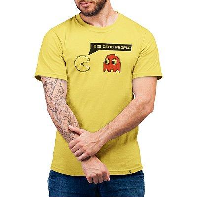 I See Dead People - Camiseta Basicona Unissex