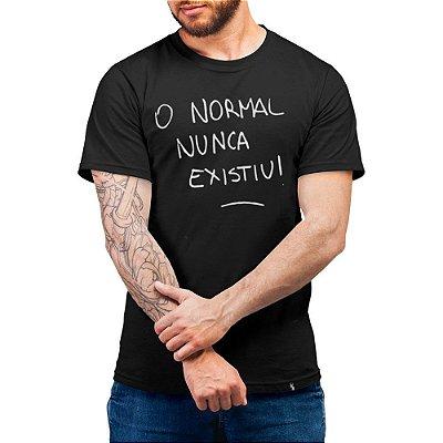 Novo Normal #cestabasica - Camiseta Basicona Unissex