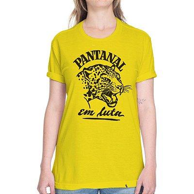 Pantanal em Luta - Camiseta Basicona Unissex