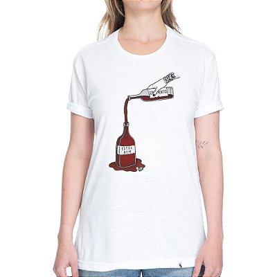 releitura de mim mesma - Camiseta Basicona Unissex
