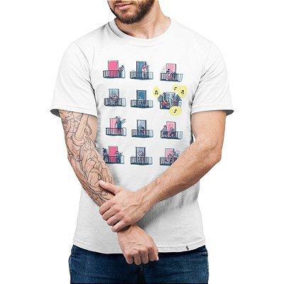 Isolamento - Camiseta Basicona Unissex