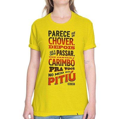 No Meio do Pitiú - Camiseta Basicona Unissex