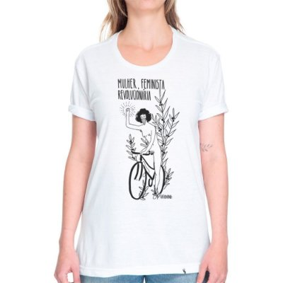 Mulher, Feminista, Revolucionária - Camiseta Basicona Unissex