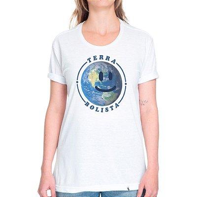 Terra Bolista - Camiseta Basicona Unissex