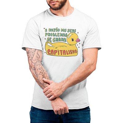 Capitalismo - Camiseta Basicona Unissex