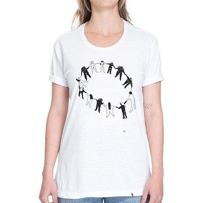 Ciranda de Mulheres - Camiseta Basicona Unissex