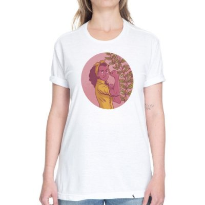 Mulher Café - Camiseta Basicona Unissex
