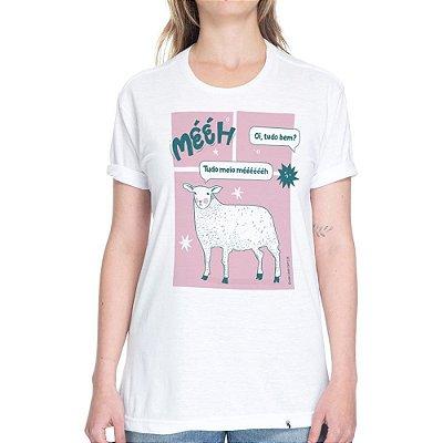 Meio Mééh - Camiseta Basicona Unissex