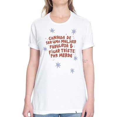 Mulher Fabulosa - Camiseta Basicona Unissex