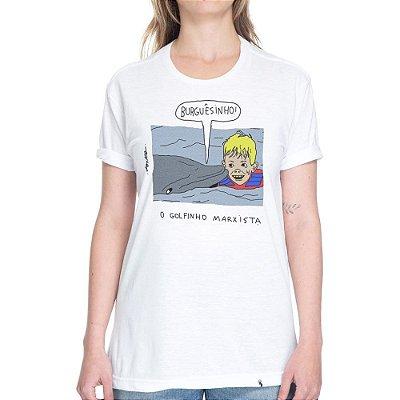 O Golfinho Marxista - Camiseta Basicona Unissex